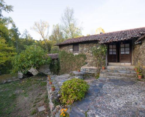 Entrada a casa rural Portugal